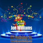 Congratulations, Jon Williams!